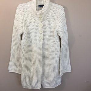 (R)elativity cardigan sweater size L EUC